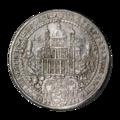 INC-1465-r Талер Зальцбург Парис фон Лондрон 1628 г. (реверс).png