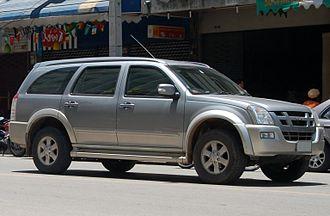Automotive industry in Thailand - Isuzu MU-7 SUV