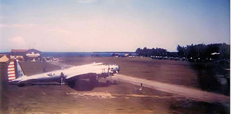 Iba, Zambales - Iba Field now Iba Airport in 1941