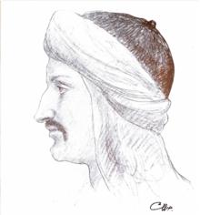 Ibn al-Muqaffa' by Khalil Gibran.png
