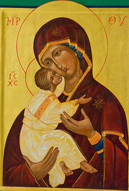 Icon of the Madonna in Abbey church