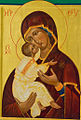 Icon of the Madonna in Abbey church.jpg