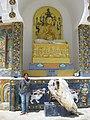 Idol at Stupa.JPG