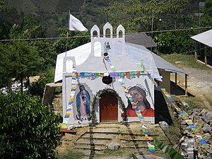 Acteal - Catholic church in Acteal built in commemoration of the 1997 massacre
