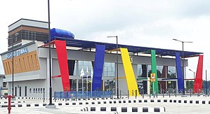 Lagos Metropolitan Area Transport Authority - Ikeja Terminal constructed by LAMATA