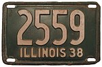 Illinois - 1938 license plate.jpg