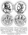 Illustrierte Geschichte d. sächs. Lande Bd. II Abt. 1 - 092 - Medaillen des Herzogs Johann Friedrich und seiner Gattin Elisabeth.jpg