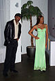 InSapphoWeTrust - Samuel L. Jackson and Naomi Campbell at Madame Tussauds London (8480298587).jpg