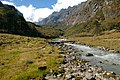In this place the trail descends to the river Isuwa Khola. GPS exact coordinates. - panoramio.jpg