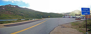 Independence Pass (Colorado) - Image: Independence Pass panorama from Highway 82