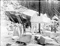 Index Granite Works showing men hoisting large block, Index, ca 1911 (PICKETT 38).jpeg