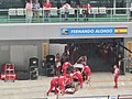 Indian Grand Prix, Scuderia Ferrari ( Ank Kumar) 03.jpg