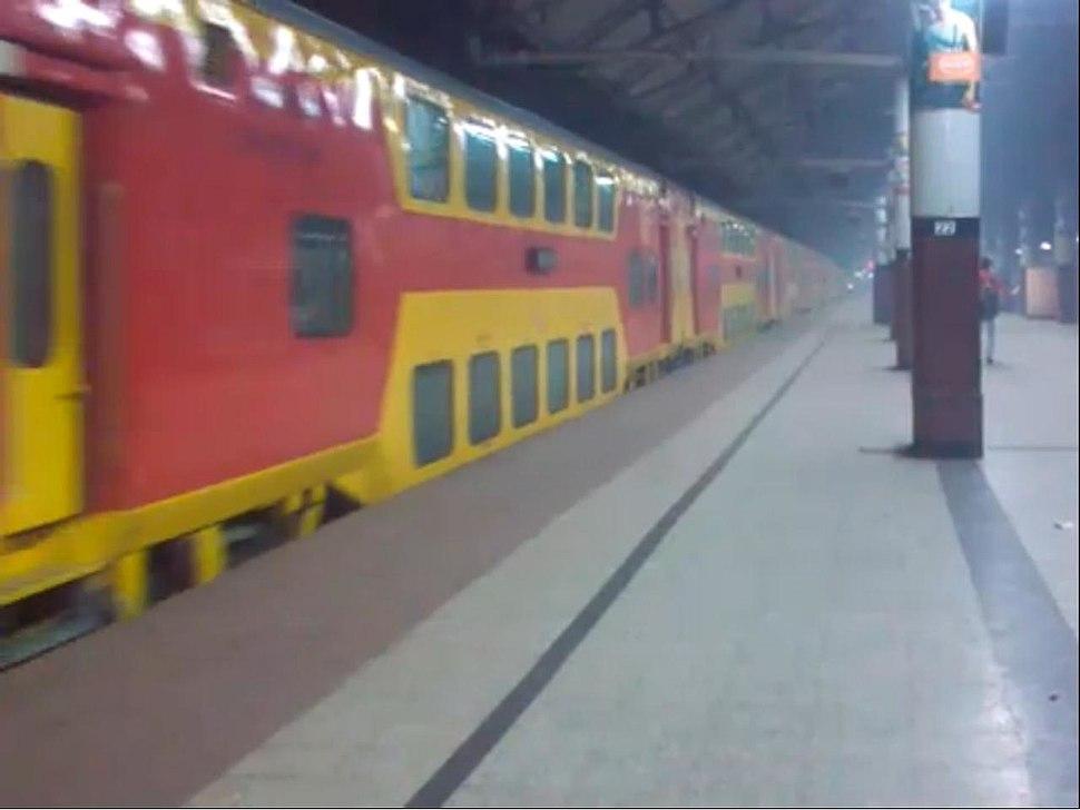 Indian Rail Double Decker