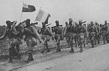 Indian reinforcements who fought at Givenchy, December 1914