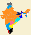 Indian states by Ruling Party 1.png