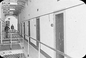 Kilmainham Gaol - 'Informers Corridor' pictured c.1890s