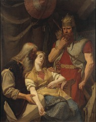 Ingeborg Receiving News of Hjalmar's Death from Orvar Odd
