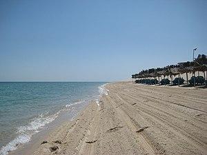 Khawr al Udayd - The beach in Khawr al Udayd.