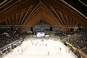 Innenaufnahme Vaillant Arena Davos