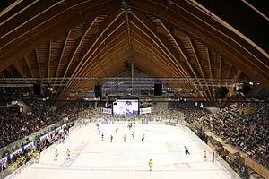 Vaillant Arena - Image: Innenaufnahme Vaillant Arena Davos