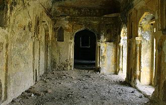 Ajaigarh - Inside of Ajaigarh Palace