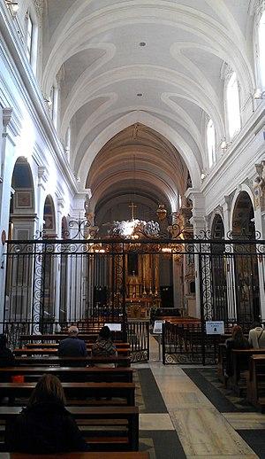 Trinità dei Monti - Image: Interior of Trinità dei Monti