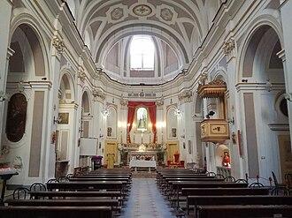 Santa Maria della Concordia - Interior of church