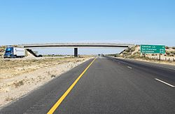 A Rural Stretch Of I 5 In California Two Lanes In Each Direction Are Separated By A Large Grassy Median And Cross Traffic Is Limited To Overp And