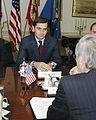 Irakli Okruashvili meets Donald Rumsfeld (June 17, 2005).jpg