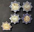 Iran, mattonelle stellate con animali, 1290-1350 ca..JPG