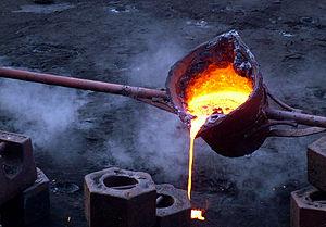 Iron -melting
