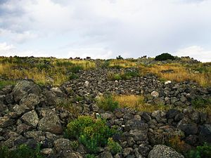 Ushiberd - Image: Iron Age Fortress of Ushi
