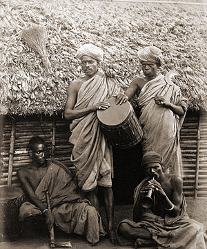 Ethnic groups in Kerala - A group of Irula men photographed in 1871–72