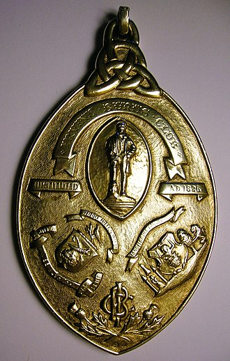 Burns Clubs - Part of the Irvine Burns Club's Presidents Chain of Office.