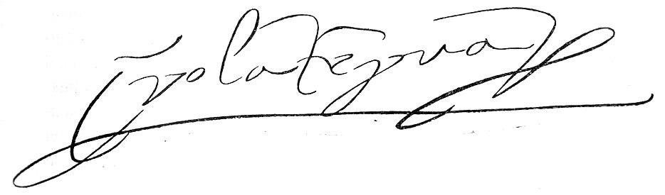 Isabella of Portugal's signature