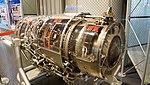 Ishikawajima-Harima F3-IHI-30 turbofan engine(cutaway model) left rear view at Hamamatsu Air Base Publication Center November 24, 2014.jpg