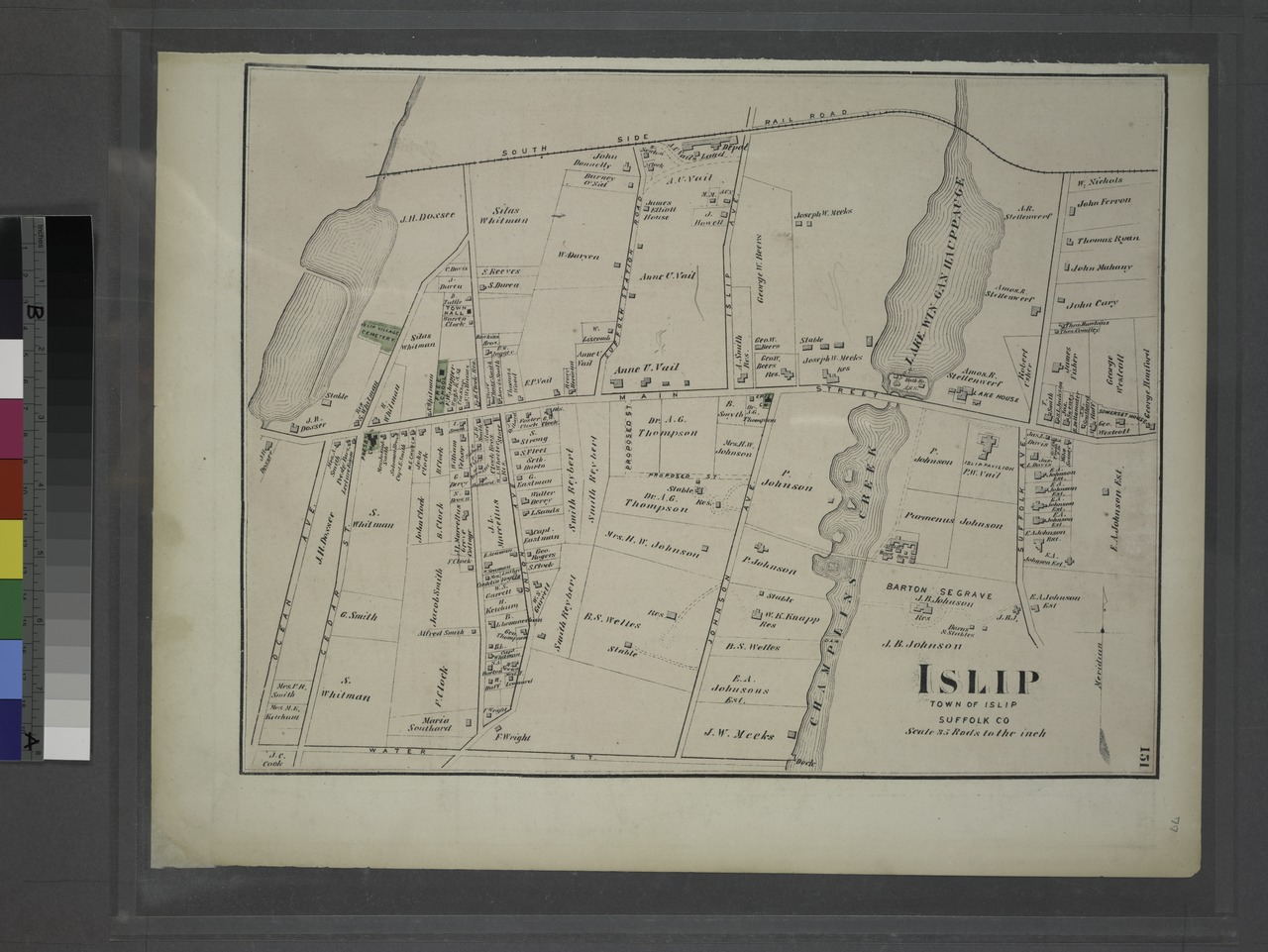 Islip Long Island Map