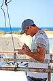 Israel-04753 - Repairing the Net (33625167316).jpg