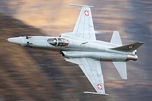 Northrop F-5 - An F-5E of the Swiss Air Force