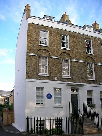 John Newlands (chemist) - Newlands' birthplace in West Square, Lambeth.