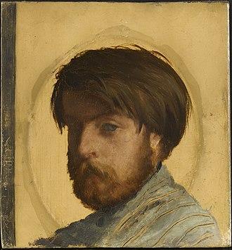 Auguste Toulmouche - Portrait of Toulmouche by Jean-Louis Hamon.