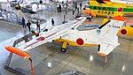 JASDF MU-2S(13-3209) left rear top view at Hamamatsu Air Base Publication Center November 24, 2014 01.jpg
