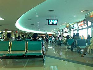 Adisutjipto International Airport - Adisutjipto Airport's Domestic Departure Lounge