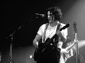 Jack White - White performing live in 2012