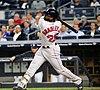 Jackie Bradley Jr batting in game against Yankees 09-27-16 (4).jpeg