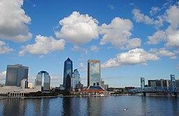 Jacksonvilles silhuet