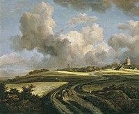Jacob Isaacksz. van Ruisdael - Weg door korenvelden in de buurt van de Zuiderzee.jpg