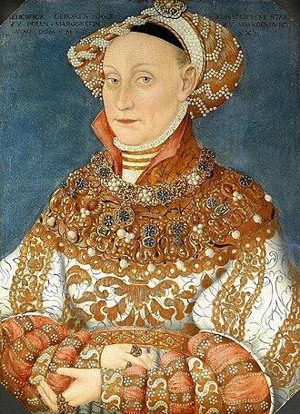 Hedwig Jagiellon, Electress of Brandenburg - Image: Jadwiga Jagiellonka