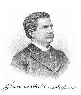 James M. Shackelford American general