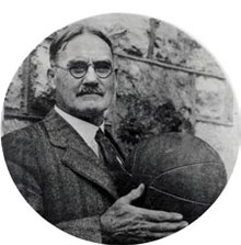 James Naismith James Naismith with a basketball.jpg